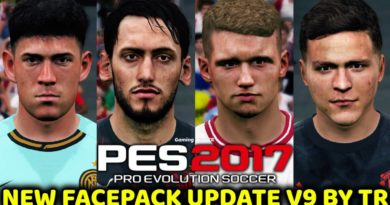 PES 2017 | NEW FACEPACK UPDATE V9 BY TR | DOWNLOAD & INSTALL