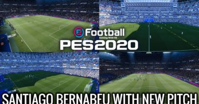 PES 2020 | NEW SANTIAGO BERNABEU WITH NEW PITCH | DOWNLOAD & INSTALL