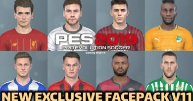 PES 2019 | NEW EXCLUSIVE FACEPACK V11 | DOWNLOAD & INSTALL