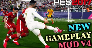 PES 2017 | NEW GAMEPLAY MOD V4 | DOWNLOAD & INSTALL