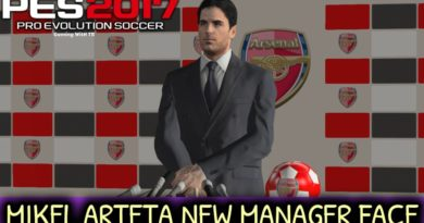 PES 2017 | MIKEL ARTETA | NEW MANAGER FACE | DOWNLOAD & INSTALL