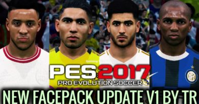 PES 2017   NEW FACEPACK UPDATE V1 BY TR   DOWNLOAD & INSTALL
