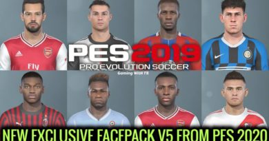 PES 2019 | NEW EXCLUSIVE FACEPACK V5 FROM PES 2020 | DOWNLOAD & INSTALL