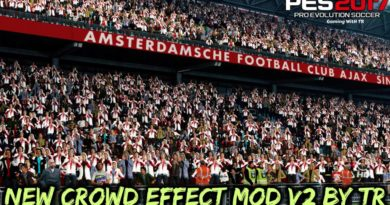 PES 2017 | NEW CROWD EFFECT MOD V2 BY TR | FOR ALL STADIUMS | DOWNLOAD & INSTALL