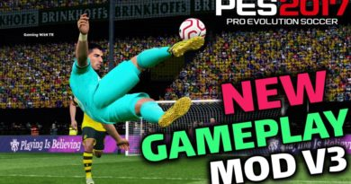PES 2017 | NEW GAMEPLAY MOD V3 | DOWNLOAD & INSTALL