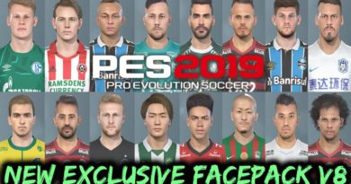 PES 2019 | NEW EXCLUSIVE FACEPACK V8 | DOWNLOAD & INSTALL
