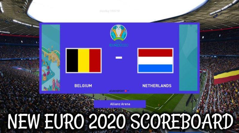 PES 2020 | NEW EURO 2020 SCOREBOARD | CPK VERSION | DOWNLOAD & INSTALL
