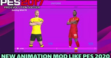 PES 2017   NEW ANIMATION MOD LIKE PES 2020   DOWNLOAD & INSTALL