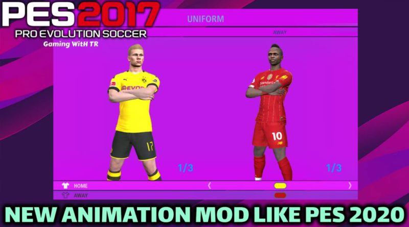 PES 2017 | NEW ANIMATION MOD LIKE PES 2020 | DOWNLOAD & INSTALL