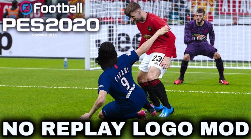 PES 2020 | NO REPLAY LOGO MOD | NO LAG | DOWNLOAD & INSTALL