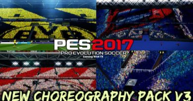 PES 2017 | NEW CHOREOGRAPHY PACK V3 | NEW ATMOSPHERE | DOWNLOAD & INSTALL