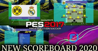 PES 2017 | NEW SCOREBOARD 2020 | DOWNLOAD & INSTALL