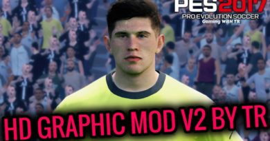 PES 2017 | LATEST HD GRAPHIC MOD V2 BY TR | ALL IN ONE | DOWNLOAD & INSTALL