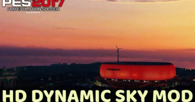 PES 2017 | HD DYNAMIC SKY MOD FOR ALL STADIUMS | DOWNLOAD & INSTALL
