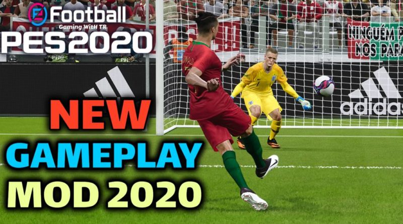 PES 2020 | NEW GAMEPLAY MOD 2020 | DOWNLOAD & INSTALL