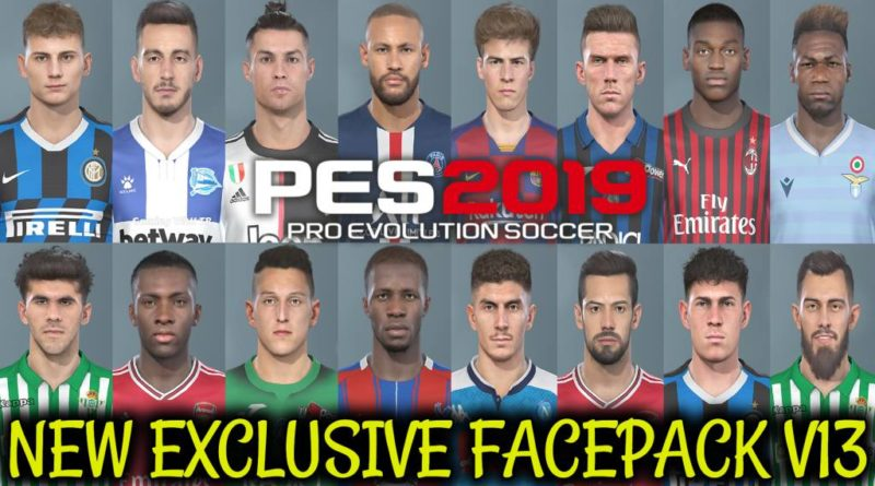 PES 2019 | NEW EXCLUSIVE FACEPACK V13 | DOWNLOAD & INSTALL