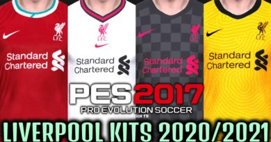 PES 2017 | LIVERPOOL KITS 2020/2021 | UNOFFICIAL VERSION | DOWNLOAD & INSTALL