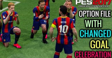 PES 2017 | NEW OPTION FILE WITH CHANGED GOAL CELEBRATION | PROFESSIONALS PATCH | DOWNLOAD & INSTALL