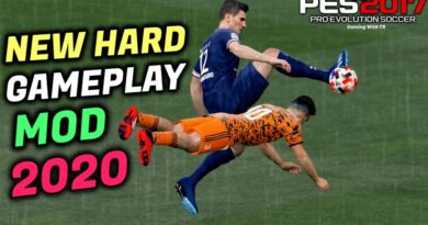 PES 2017 | NEW HARD GAMEPLAY MOD 2020 | DOWNLOAD & INSTALL
