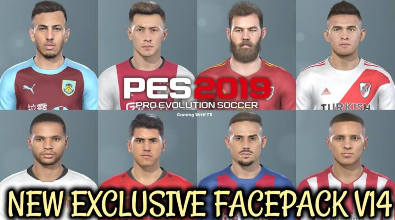 PES 2019 | NEW EXCLUSIVE FACEPACK V14 | DOWNLOAD & INSTALL
