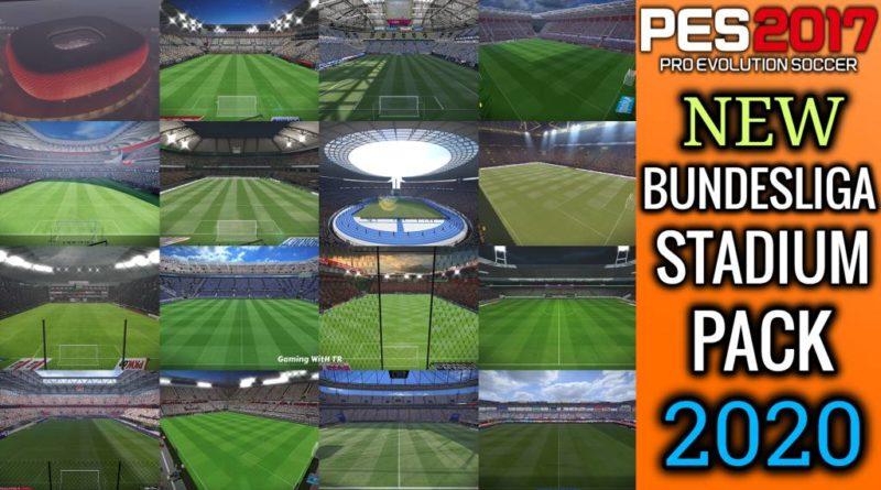 PES 2017 | NEW BUNDESLIGA STADIUM PACK 2020 | DOWNLOAD & INSTALL