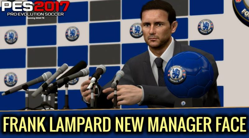 PES 2017 | FRANK LAMPARD | NEW MANAGER FACE | DOWNLOAD & INSTALL
