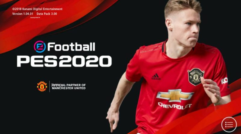 PES 2017   NEW MANCHESTER UNITED GRAPHIC MENU 2020   DOWNLOAD & INSTALL