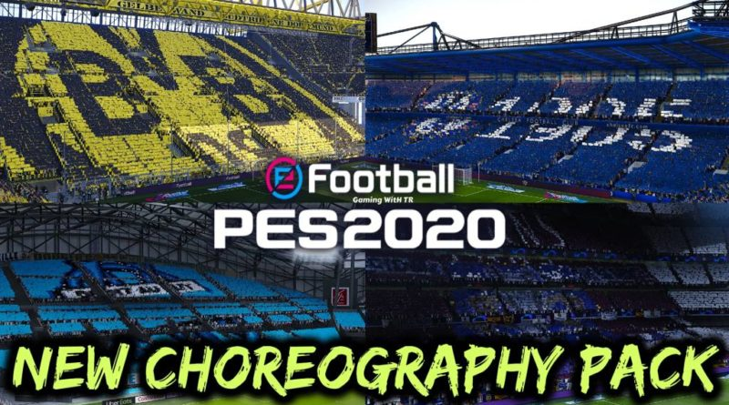 PES 2020 | NEW CHOREOGRAPHY PACK | NEW ATMOSPHERE | DOWNLOAD & INSTALL