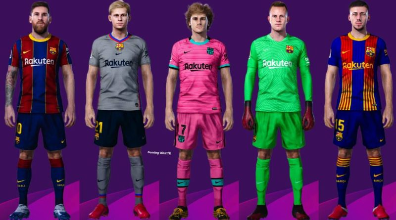 Pes 2020 Barcelona Kits 2020 2021 Gaming With Tr