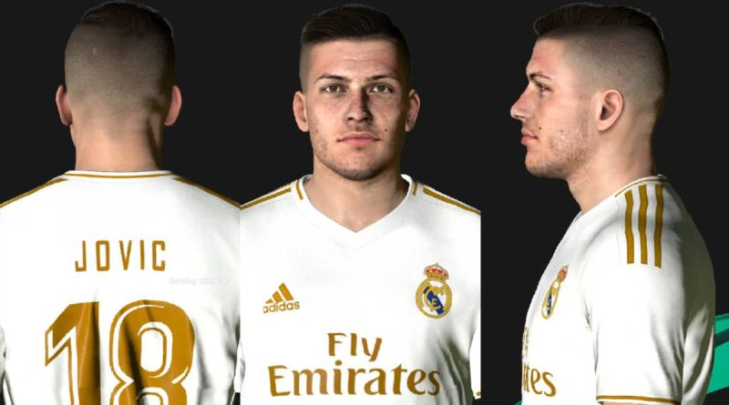 PES 2017 | LUKA JOVIC | NEW LOOK 2020 | DOWNLOAD & INSTALL