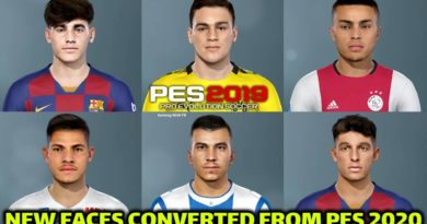 PES 2019 | NEW FACES CONVERTED FROM PES 2020 | DOWNLOAD & INSTALL