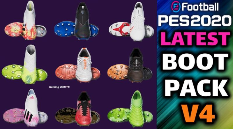 PES 2020 | LATEST BOOTPACK V4 | ALL IN ONE | DOWNLOAD & INSTALL