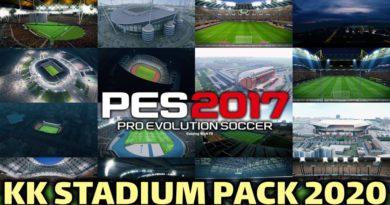 PES 2017   KK STADIUM PACK 2020   DOWNLOAD & INSTALL