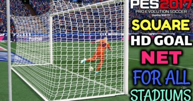 PES 2017 | SQUARE HD GOAL NET FOR ALL STADIUMS | DOWNLOAD & INSTALL