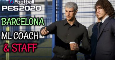 PES 2020 | BARCELONA ML COACH & STAFF | DOWNLOAD & INSTALL