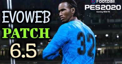 PES 2020 | EVOWEB PATCH 6.5 | ALL IN ONE | DOWNLOAD & INSTALL