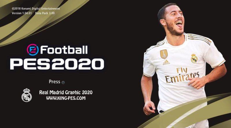 PES 2017 | REAL MADRID GOLD PES 2020 GRAPHIC MENU | DOWNLOAD & INSTALL