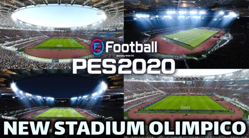 PES 2020 | NEW STADIUM OLIMPICO | AS ROMA VERSION | DOWNLOAD & INSTALL