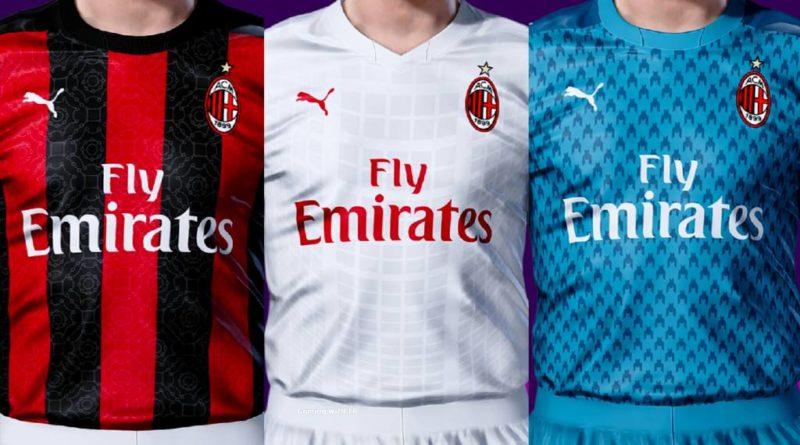 Pes 2020 Ac Milan Kits 2020 2021 Gaming With Tr