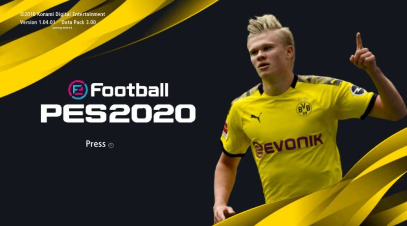 PES 2017 | NEW BORUSSIA DORTMUND GRAPHIC MENU 2020 | DOWNLOAD & INSTALL