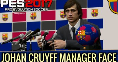 PES 2017 | JOHAN CRUYFF | MANAGER FACE FOR ML | DOWNLOAD & INSTALL