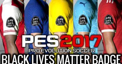 PES 2017 | BLACK LIVES MATTER BADGE | DOWNLOAD & INSTALL