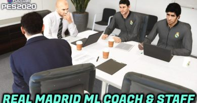 PES 2020 | REAL MADRID ML COACH & STAFF | DOWNLOAD & INSTALL