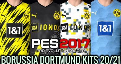 PES 2017 | BORUSSIA DORTMUND KITS 2020/2021 | UNOFFICIAL VERSION | DOWNLOAD & INSTALL