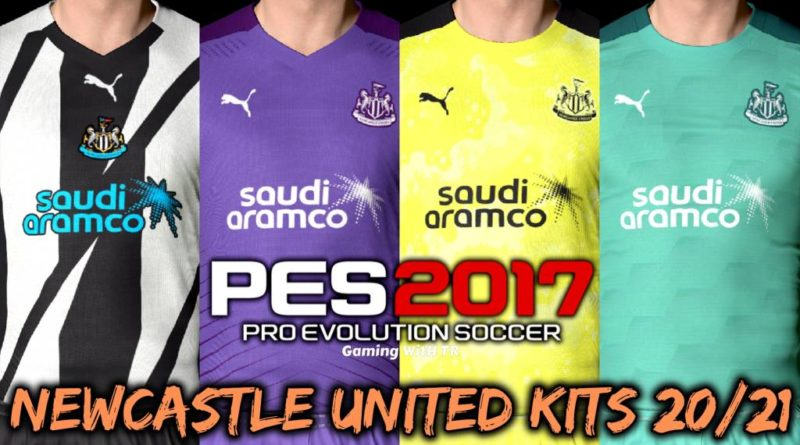 PES 2017 | NEWCASTLE UNITED KITS 2020/2021 | UNOFFICIAL VERSION | DOWNLOAD & INSTALL