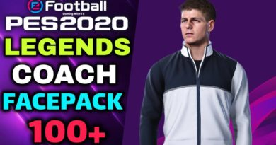 PES 2020 | LEGENDS COACH FACEPACK | ALL IN ONE 100+ | DOWNLOAD & INSTALL
