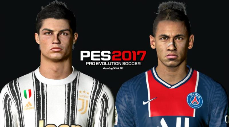 PES 2017 | CRISTIANO RONALDO & NEYMAR JR | YOUNG FACES | DOWNLOAD & INSTALL