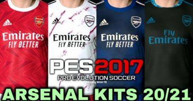 PES 2017 | ARSENAL KITS 20/21 | UNOFFICIAL VERSION | DOWNLOAD & INSTALL