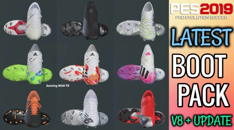 PES 2019 | LATEST BOOTPACK V8 + UPDATE BY TISERA09 | DOWNLOAD & INSTALL