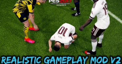 PES 2017 | REALISTIC GAMEPLAY MOD V2 | DOWNLOAD & INSTALL
